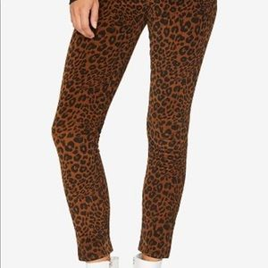 Leopard skinny jeans NEW